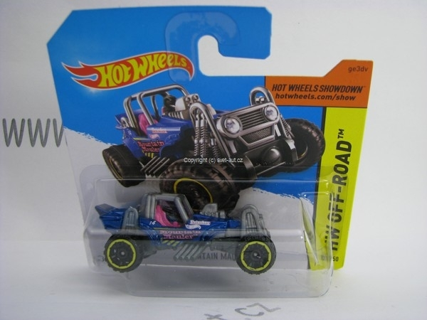 Hot Wheels 2014 Mountain Mauler HW Off-Road 5785 103/250
